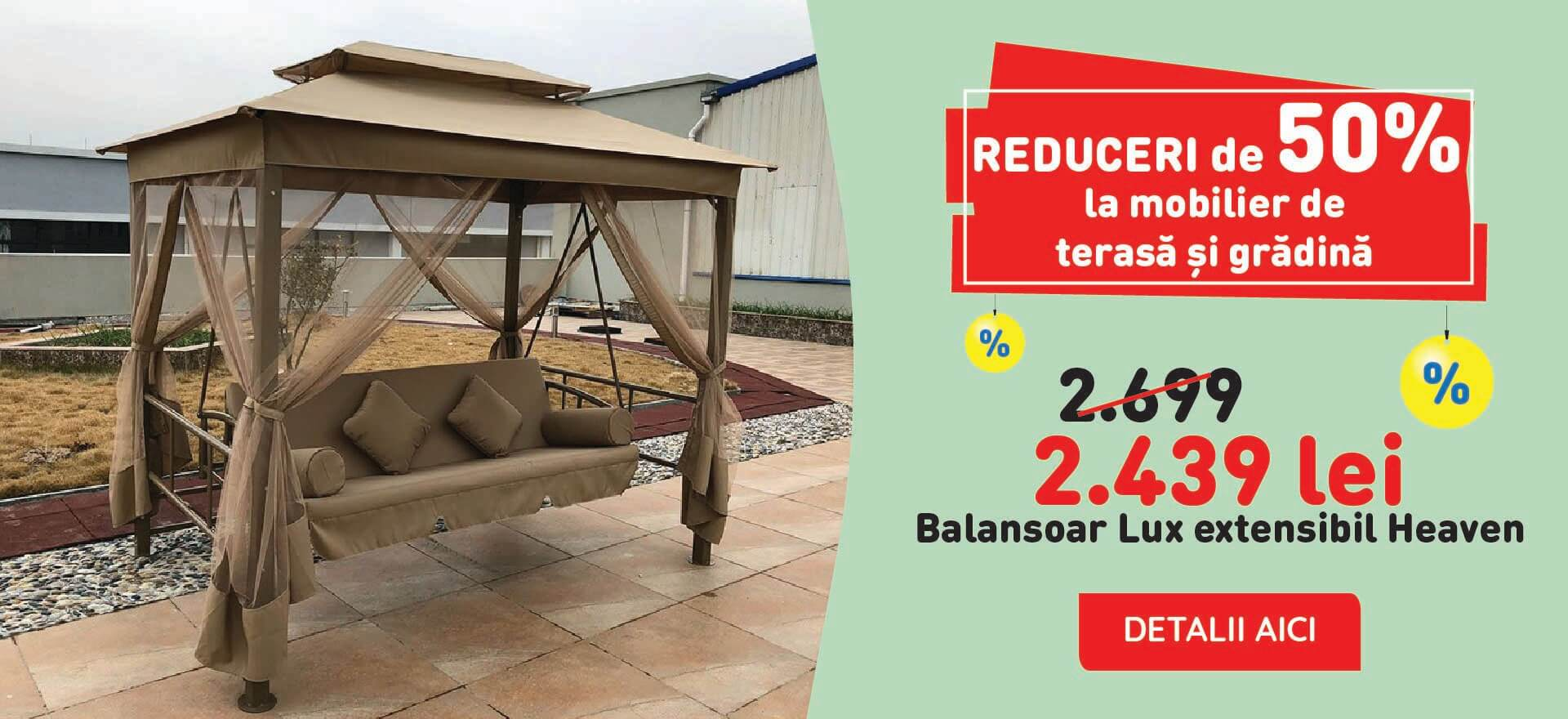 Reducere Balansoar Lux extensibil Heaven