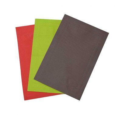 SUPORT FARFURII 30X45CM ROSU PVC/PS FUSION FRESH RED