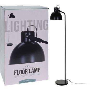 LAMPADAR METAL, 27X24X170 CM, 40 W, 1XE27, NEGRU