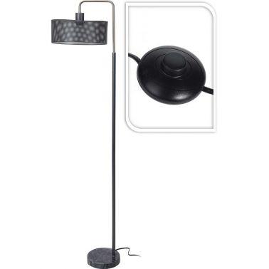 LAMPADAR MARMER METAL 30X30X150 CM, E27