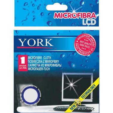 LAVETA MICROFIBRA SPECIALA PENTRU LCD SI APARATURA ELECTRONICA /ELECTROCASNICA 25X20 CM, YORK