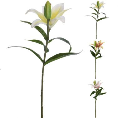 PLANTA DECOR CRIN 59 CM, DISPONIBILA IN 3 CULORI: ROZ, PORTOCALIU, GALBEN