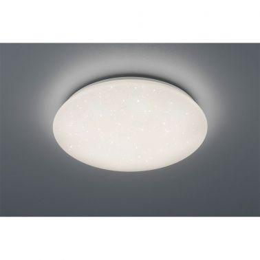 PLAFONIERA POTZ, 50X50X12 CM, 1 X SMD LED, 21 W, 2200 LM, 4000 K, IP44, POLIPROPILENA, ALB