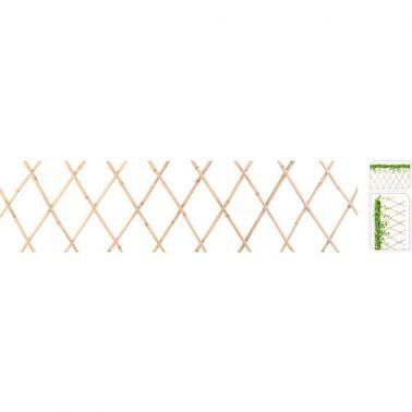 GARDULET ORNAMENTAL PENTRU TERASA/GRADINA, PLIABIL, 45X180 CM, BAMBUS, NATUR