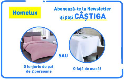 Regulament Campanie Aboneaza-te la newsletter