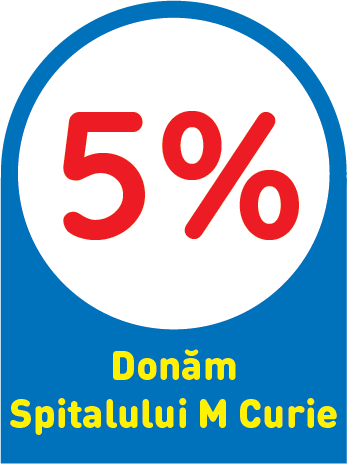 Regulament Campanie Donam impreuna 5% la Spitalul Marie Curie