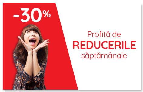 Regulament Campanie Reduceri saptamanale -30%