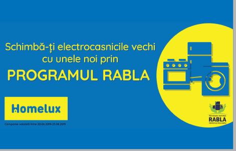 Regulament Program RABLA Electrocasnice